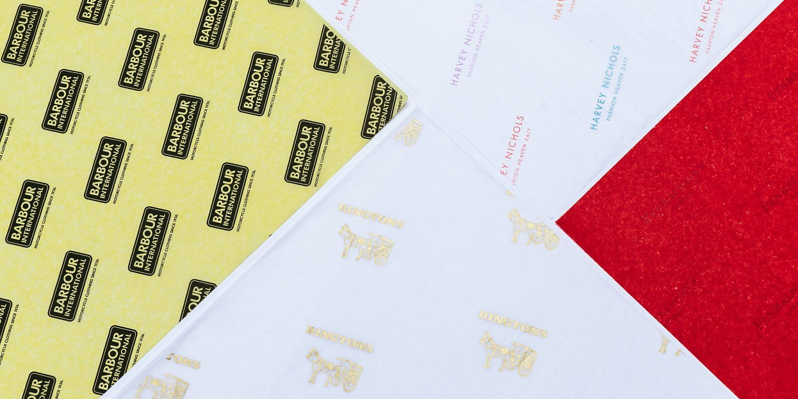 17 GSM Branded Tissue Paper
