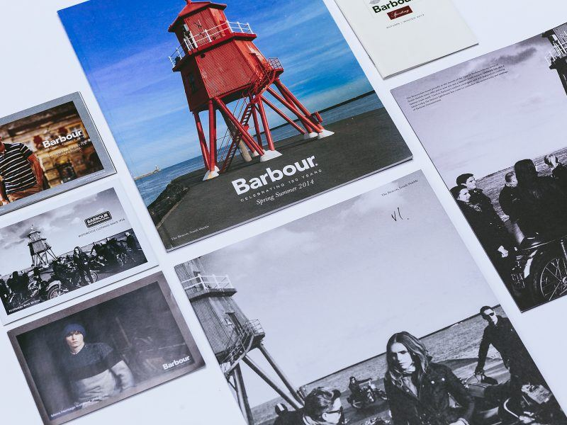 Barbour Printed Catalogues